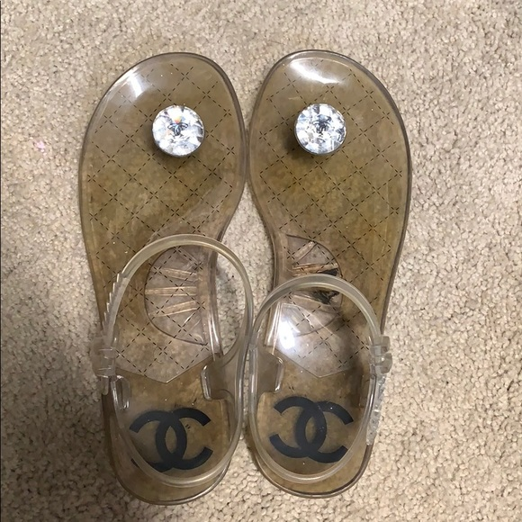 f9bd6cd62edf CHANEL Shoes - Authentic Chanel Jelly Sandals